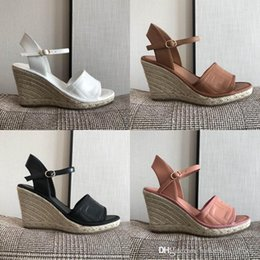 summer sandals size 13 women NZ - summer wedge 2020 platform hemp rope women sandals height is about 13 cm with 3.5 cm waterproof platform casual size 35-41