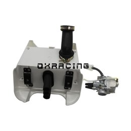 air filter assembly NZ - Carburetor Carb with Air Filter Box Foam Assembly For PW80 PY80 PEEWEE 80 Motorcross