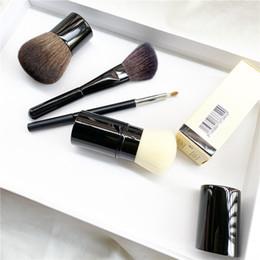 Wholesale CC Retractable Kabuki Brush   Petit Pinceau Kabuki   Angled Contouring Brush - Quality Blush Powder Foundation Makeup Brushes