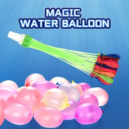 Discount water balloon magic TW2005020 Magic Water Balloon 37PCS BALLOONS GATHERING FULL 37 BALLOONS WITH WATER AT A TIME balloon gift