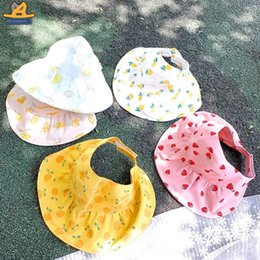 shades christmas Australia - H1527 2020 new Korean cartoon empty top baby sun-proof sun-shading children's Fruit fruit hat