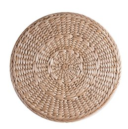 round placemats wholesale NZ - Heat Resistant Table Kitchen Gadget Tools Eco-friendly Corn Straw Braid Round Placemats Cushion Woven Cup Mat free shipping mini order 4pcs