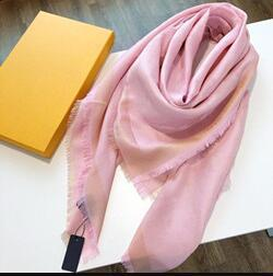 Wholesale New Designer Scarfs With Pattern Four Season Scarf For Women Multiple Use Famous Shawl Scarves 4 Color Size 140x140cm with Gift Box
