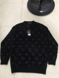 Wholesale men jumper for sale – oversize Europe women and mens designer sweaters retro classic luxury sweatshirt men Arm letter embroidery Round neck comfortable high quality jumper