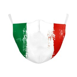 italy flags Australia - Forza Italy Spain Flag Print Mask Keep Fighting Face Masks Fabric Adult Protective Pm25 Reusable Mask Proof Washable Designer xhhair vsRXa