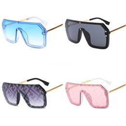new wave sunglasses UK - New 2020 Fashion Fire Flame Double F Sunglasses Women Men Rimless Wave Sun Glasses Eyewear Trending Narrow Double F Sunglasses Streetwear#446