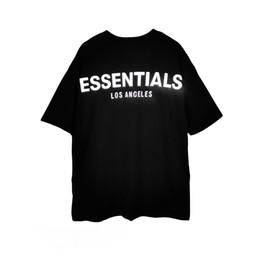 Wholesale black raglan t shirt online – design Best Reflective Tags Heavy Cotton T shirt Women Men Relaxed fit Raglan Tee Streetwear