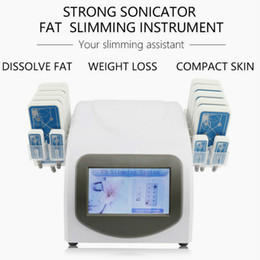 lipolysis beauty machines UK - Portable Lipolaser Slimming Beauty Machine Diode Lipo Laser LLLT Lipolysis 650Nm 14 Pads System Salon Home Use Equipment