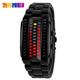 watches products UK - Shikemei 1013 fashion creative led women's personalized watch fashionable products for men and women lovers student fashion watch