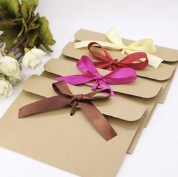dvd storage bags Canada - 50Pcs Vintage Brown Kraft Paper CD Paper Envelopes DVD Papar Case Bag Gift Bag CD Storage Bags Cover Holding 1CD Envelope