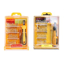 tools computer kit Canada - 32 In 1 Disassemble Screwdriver Set Repair Tool Kit Computer Phone Open Tool Set Multifunctional Alloy Screwdriver Kit New