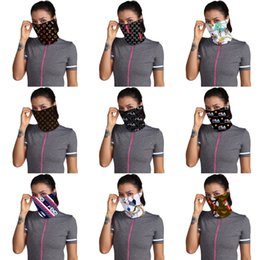 fashion dust masks Canada - Fashion Designer Printed Basketball Sport Headkerchief Unisex Anti Dust 100% Microfiber Polyester Neck Face Mask Reusable Printing Scarf #929