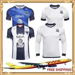 Discount thailand soccer jersey wholesale DHL Free shipping 2020 2021 Top thailand Quality Club Monterrey soccer jersey 75th Monterrey 75-years Soccer Jersey Size