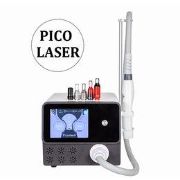 Опт Picosecond Laser 755 Портативный Nd YAG Лазер для удаления татуировок устройств лазерной спекл удаления Веснушки Пятна Удалить Picosecond красоты оборудование