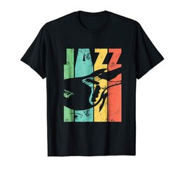 electric guitar custom sale NZ - Jazz Guitar T-Shirt Electric Guitar Trendy For Men Latest Mens Clothes Sale 100 % Natural T Shirt Short Sleeve Tee Shirts Hiphop