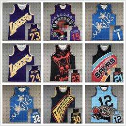 Men Big Basketball face pas cher Jersey Carter 15 Morant 12 Michael James 23 Sports de plein air confortable et respirante Shorts en Solde