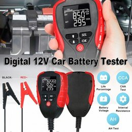 car battery meter Australia - Car digital 12V car battery tester battery electronic load meter analysis and diagnosis tool tester INTC#