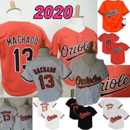 toddler jerseys UK - Trey Mancini Infant Toddler Baby Jersey Chris Davis Hanser Alberto Richie Martin Rio Ruiz Jose Iglesias Renato Nnnez Chance Sisco John Means