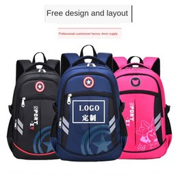 school bag train Canada - New school Primary School students 1-3-6 grade children training school tutorial class girl backpack Schoolbag Backpack Bag