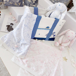 baby swaddling Cute Soft Bunny Stuffed Animal boys girls Toys Doll Baby Accompany Sleep Toy Kids Gifts and baby soft blanket on Sale