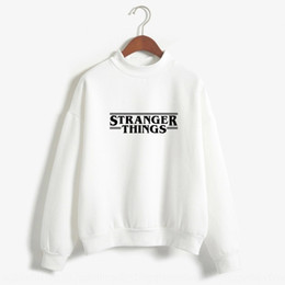 hats words UK - Strange and strange words of things stranger sweater things letter large size couple clothes sweater
