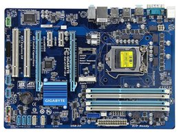 original para Gigabyte GA-Z77P-D3 LGA 1155 DDR3 tableros Z77P-D3 32GB USB3.0 Z77 placa base de escritorio en venta