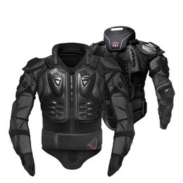 neck armor Australia - Motorcycle Jacket Full Body Armor Motorcycle Armor Motorcross Racing Motorbike Neck Protector Gear armadura moto armored girder