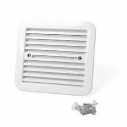 exhausted fan Australia - White 12V Fridge Vent Outlet Side Air Ventilation Exhaust Fan For RV Trailer Caravan RV Car Styling Accessories LKde#