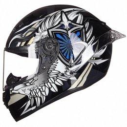 Riding Tribe Motorcycle Helmet Full Face Moto Helmets Moto Helmet Racing Motocross Casco Modular Motorbike Capacete vVXz# on Sale