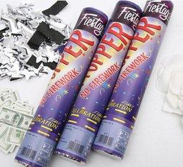 Toptan satış 2020 sıcak satış Fireworks tüp yüksek kaliteli havai fişek düğün sahnesi düğün malzemeleri toptan kutlama yaprakları yağmur hediye havai fişek 30cm