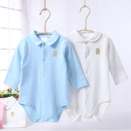 Wholesale spring overall resale online – Clothes Bodysuit Boy Clothes Girls Clothes Jumpsuit Spring Autumn Pajamas Kids Children Clothing Overalls