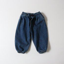 bohemian style boots Australia - JK INS Korean Style Newest Kids Girls Jeans Denim Trousers Autumn Fashions Back Pockets Designer Elastic Waist Autumn Children Unisex Pants