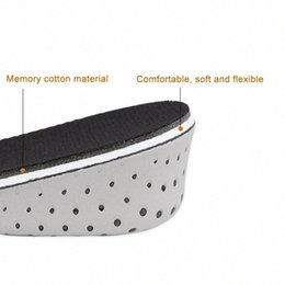 shoe lifts insoles UK - Hot Selling 1 Pair Insole Heel Lift Insert Shoe Pad Height Increase Slow Rising Cushion Taller -B5 F7hj#