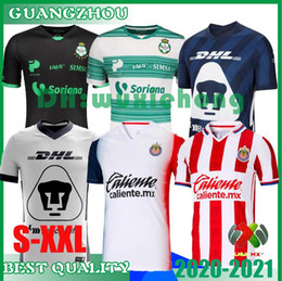 uniforms soccer america NZ - 2020 2021 LIGA MX Club America Soccer Jerseys 20 21 UNAM Guadalajara de Chivas mexico Football shirts soccer jerseys uniforms size S-XXL