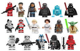 Wholesale Mini Figures Space wars Super heroes blocks 17pcs a lot builing blocks kids toys gift wholesale