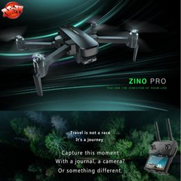 gps control rc UK - GPS 5.8G 4KM Foldable Arm WIFI FPV Remote Control RC Drone Zino Pro 4K UHD Camera Zino Pro 3-Axis Gimbal RC Quadcopter Model
