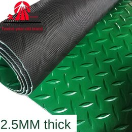 cotton floor mats UK - 2.5mm thick PVC plastic leather carpet mat floor leather corridor workshop waterproof non-slip carpet floor mat