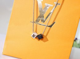 mens pendant leather Australia - LOUIS