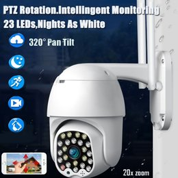 network lights NZ - 23 light ball machine wifi camera automatic tracking sound and light alarm outdoor waterproof monitoring network camera mobile phone remote