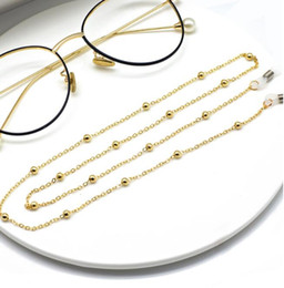 summer unisex Clip bead eyewear chain, woman chain accessories,ladies eyewear chain, neck chain, sunglasses chain free shipping on Sale