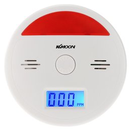 carbon monoxide alarms NZ - LCD CO Carbon Monoxide Alarm Sensor Poisoning Smoke Gas Tester Sound & Flash Warning Detector