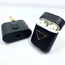 корпус apple airpods  оптовых-Модельер AirPods чехол для High Quality Airpods Pro Case Animal Letter Printed Protection Package