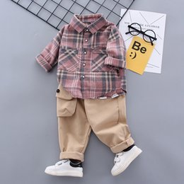 newborn baby gift set clothing 2021 - 2020 Spring baby Boys Clothing Set baby gift set toddle boy Clothes tops + pants Tracksuit newborn boy outfit