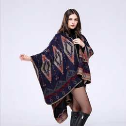 jacquard pashmina scarf Australia - Classic Wraps New Fashion High Quality Imitation Cashmere Scarves Shawls Autumn and Winter Vintage Jacquard Plaid Pashmina