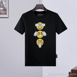 100 iphone UK - designer t shirts Mens Skull T-shirt High Quality printing t shirt Tees mens iphone 11 pro max case mens designer wallet yy58
