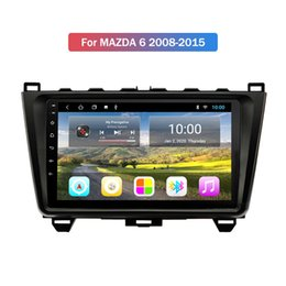 touch screen gps system UK - 2+32GB Car Multimedia Android 10 System Car Radio with 9 inch Touch Screen Bluetooth Wifi GPS MP5 Music Player for MAZDA 6 2008-2015