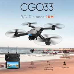red black helicopter UK - CG033 Brushless FPV Quadcopter With 4k  1080P HD Wifi Gimbal Camera Or No Camera RC Helicopter Foldable Drone GPS Dron Kids Gift
