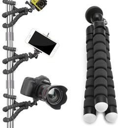 Vente en gros Mini trépied flexible Octopus Support Support Fixation du support pour Apple iPhone pour GoPro caméra caméra en direct support d'outil célébrités Internet