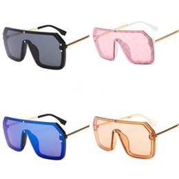 cute eyewear UK - Men Rimless Sunglasses Girl Boy Glasses Lady Square Cute Eyewear Women Uv400 Luxury Fashion Brand Vintage Design#951