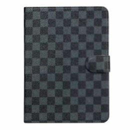 waterproof cover for ipad Australia - Tablet Cover For Apple iPad Air mini Pro case Lattice With Card Slots Business Stand Flip PU Leather Protective Skin Case Tablet Accessory